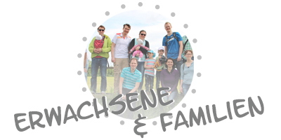 Erwachsene und Familien